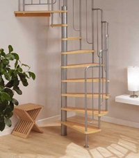 Stylish Amp Space Saving Compact Stairs And Spiral